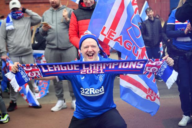 Rangers FC kroont zich voor het eerst in 10 jaar weer tot Schots kampioen