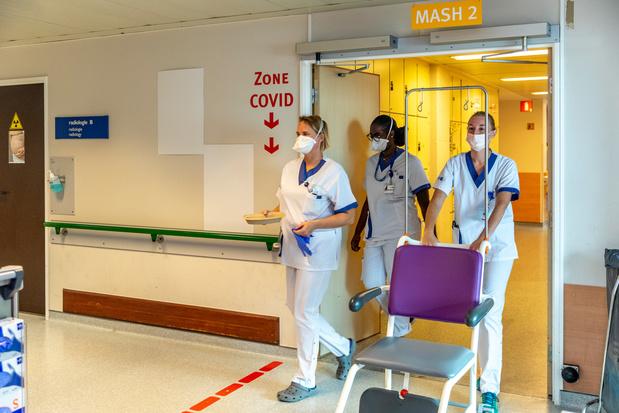 Covid en Belgique: le nombre de contaminations passe sous le seuil de 5.000 cas par jour