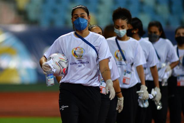 Corona-uitbraak in Copa América: al 53 mensen testten positief