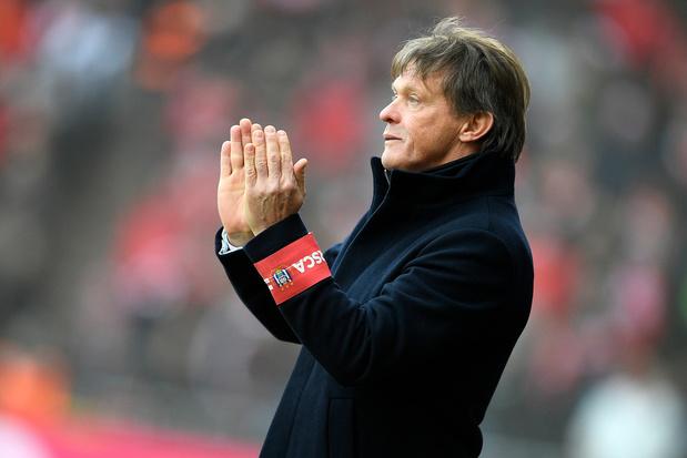 """Vercauteren avant le duel contre Bruges: """"Un match important mais pas plus qu'un autre"""""""