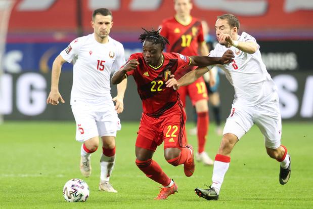 Jérémy Doku is klaar voor het EK: 'Ik wil niet zomaar mijn beurt afwachten'