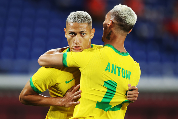 Olympische Spelen: Braziliaanse voetballers dienen Duitsland 4-2 nederlaag toe