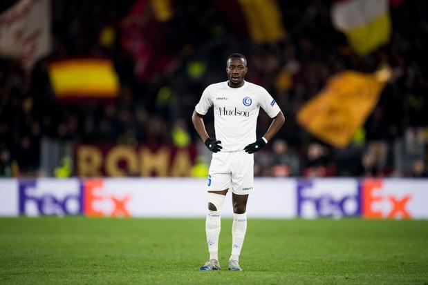 KAA Gent krijgt resem kansen maar verliest toch met 1-0 van AS Roma