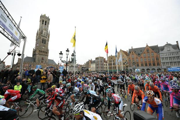 Brugge telt 1,5 miljoen euro neer voor start Ronde van Vlaanderen