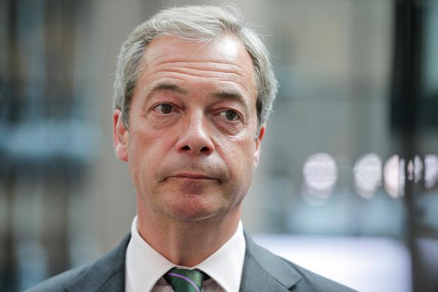 Nigel Farage: 'De oorlog is voorbij'