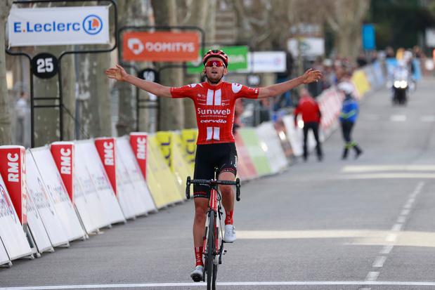 Tiesj Benoot wint zesde etappe Parijs-Nice na knappe solo