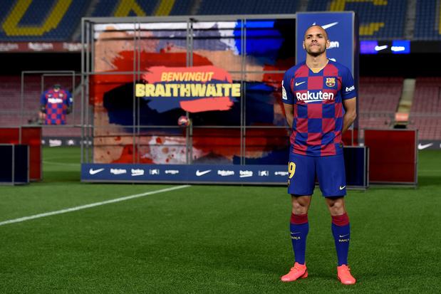 Wie is Martin Braithwaite, de vreemde medische joker van Barcelona?