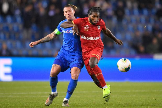Antwerp-Genk lance les huitièmes de la Coupe de Belgique