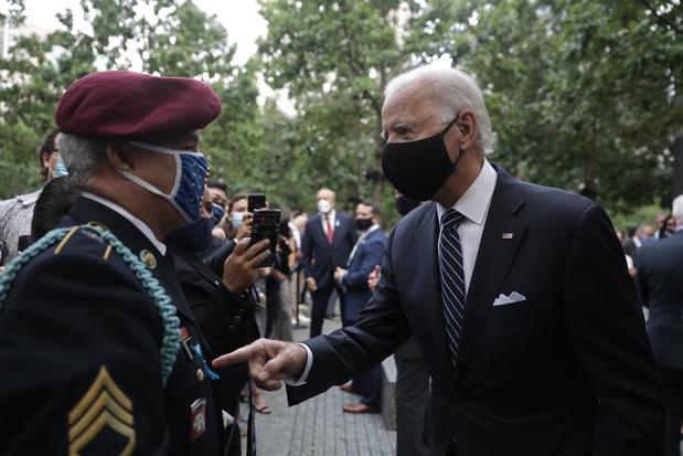 11 septembre: Trump et Biden évitent la controverse malgré des cérémonies rivales