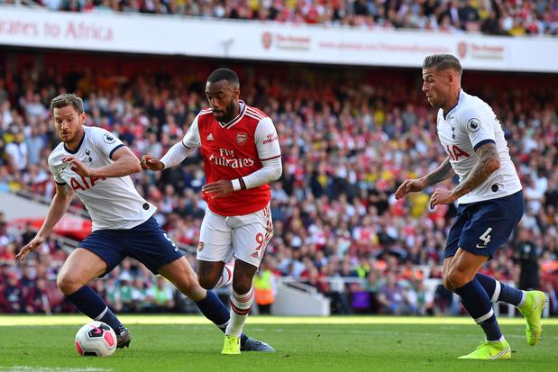 Tottenham et Arsenal se neutralisent pour la première de Vertonghen cette saison