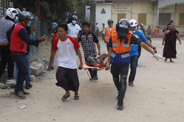 Secretaris-generaal VN veroordeelt 'gebruik van dodelijk geweld' in Myanmar