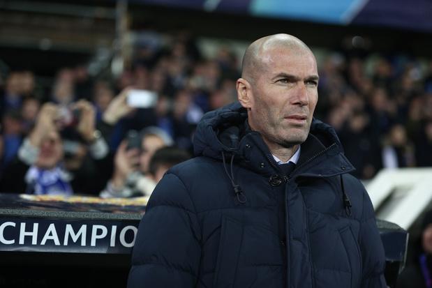 Realcoach Zinédine Zidane test positief op corona