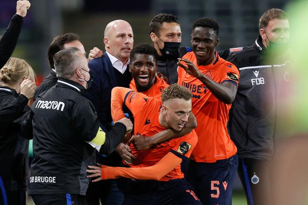 Bondsparket onderzoekt gezang Noa Lang en viering Club Brugge