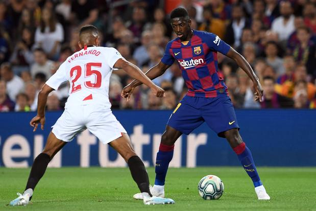 Dembélé va manquer le Clasico après ses critiques à l'arbitre