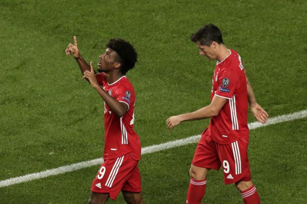 Kingsley Coman bezorgt Bayern zesde Champions League