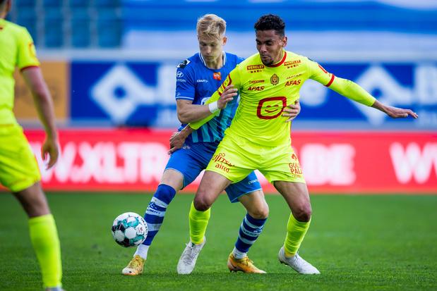 KAA Gent en KV Mechelen beginnen met 2-2-gelijkspel aan Europe play-offs