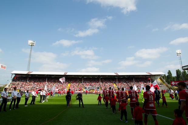 Une nouvelle tribune à l'Antwerp