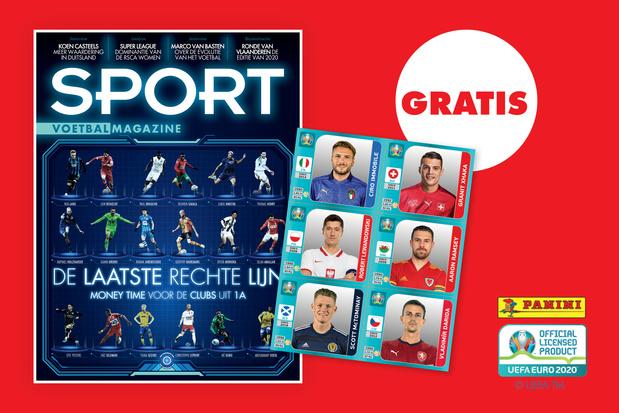 Deze week met gratis EURO2020 Paninistickers