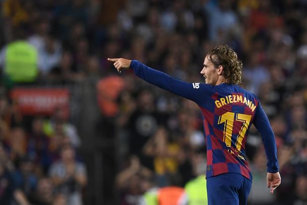 Griezmann et ses difficultés d'adapation au Barça