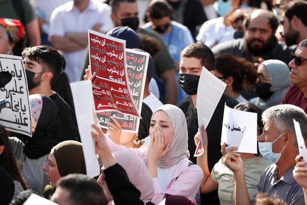 Duizenden Palestijnen protesteren tegen president Abbas