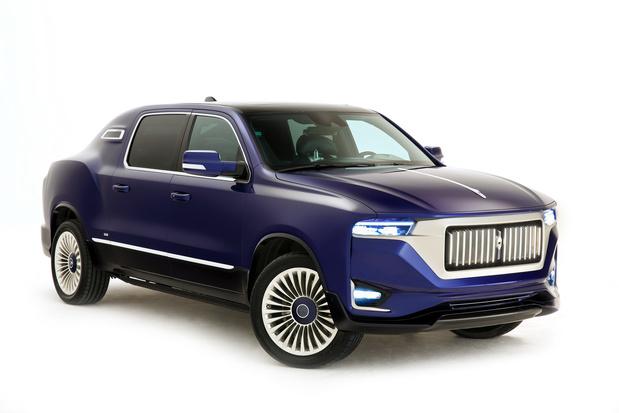 Aznom Palladium: de pick-up à limousine bling-bling
