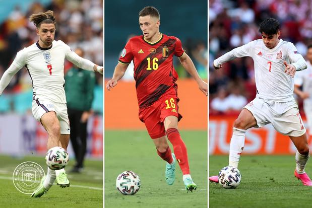 Dit waren de drie beste spelers van de 1/8 finales op het EK