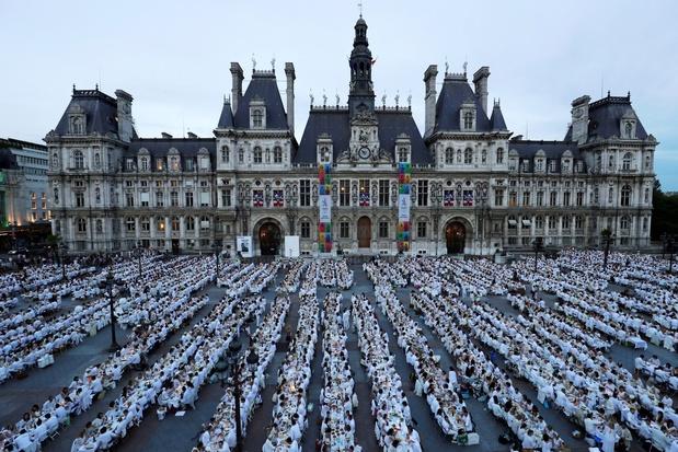 Le 31e Dîner en blanc début juin à Paris