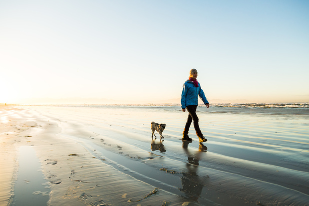 Wandelen langs water is goed voor de geestelijke gezondheid