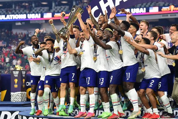 Verenigde Staten winnen Gold Cup voor de zevende keer