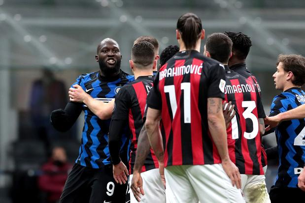 Opstootje met Ibrahimovic kost Lukaku bekerduel tegen Juventus