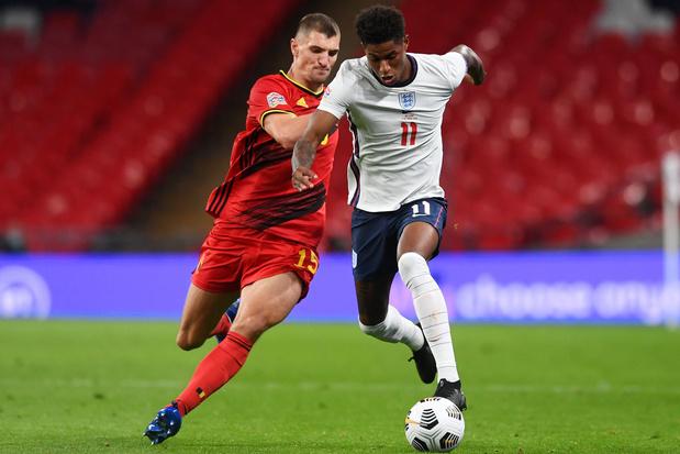 Marcus Rashford mist duel tegen België door schouderblessure