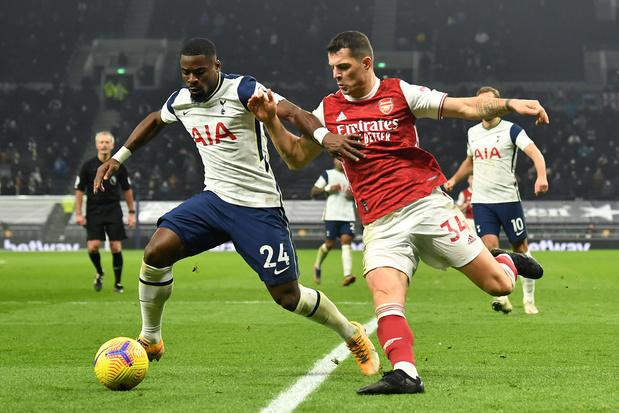 Tottenham reprend les commandes en battant Arsenal