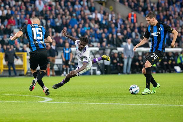Club Brugge wint van stug Beerschot: 3-2