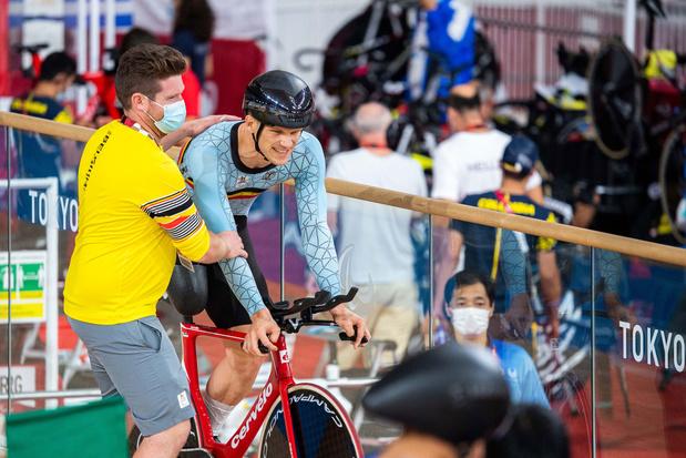 Paralympics: Ewoud Vromant wint zilver in wegtijdrit, 'harde werk toch beloond'