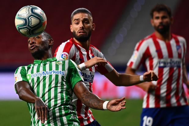 Carrasco passeur pour la victoire de l'Atlético, qualifié pour la prochaine C1