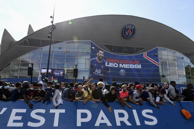 PSG wil stadion na komst Messi uitbreiden