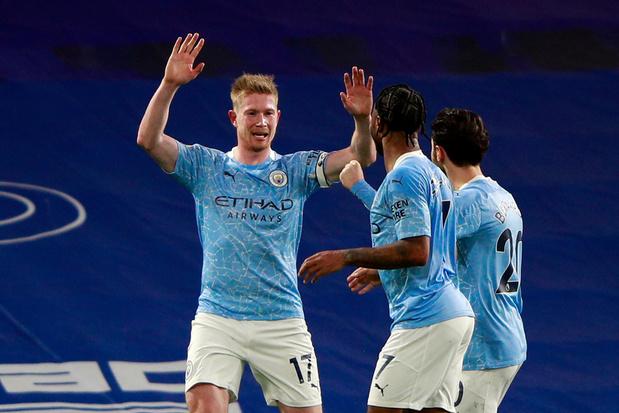 Avec De Bruyne, buteur et passeur, Manchester City plonge Chelsea dans la crise