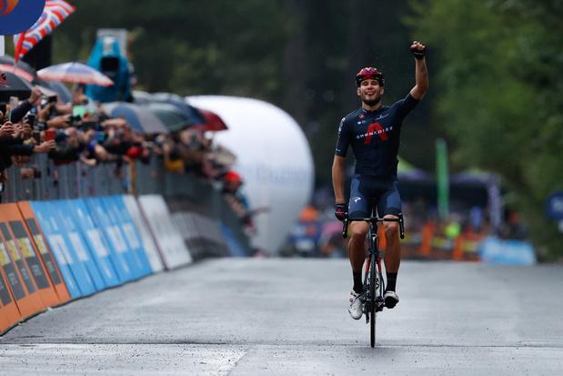 Filippo Ganna heeft tweede ritzege beet in de Giro