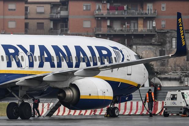 Avion retiré de Zaventem: Ryanair entend transférer le personnel vers d'autres bases