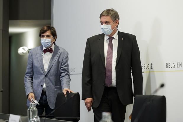 Le masque tombe un peu partout... en Flandre
