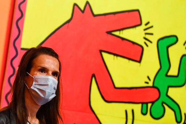 """L'expo consacrée à Keith Haring """"en passe de devenir la plus réussie"""" de Bozar"""