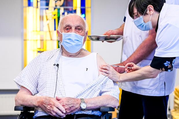 Le premier belge à avoir été vacciné est décédé