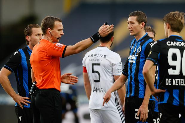 Quatre matches de suspension confirmés pour Hans Vanaken