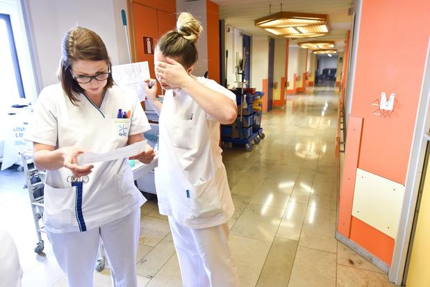 Activation des plans d'urgence dans tous les hôpitaux belges