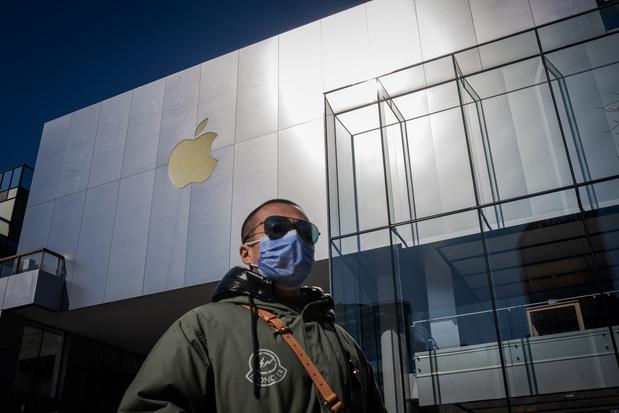 'Menace d'une carence d'iPhone de remplacement dans les Apple Stores'