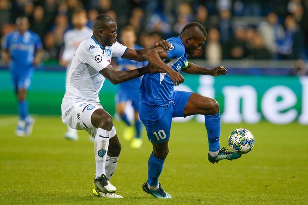 Ligue des Champions: Genk partage contre Naples (0-0) et prend son premier point