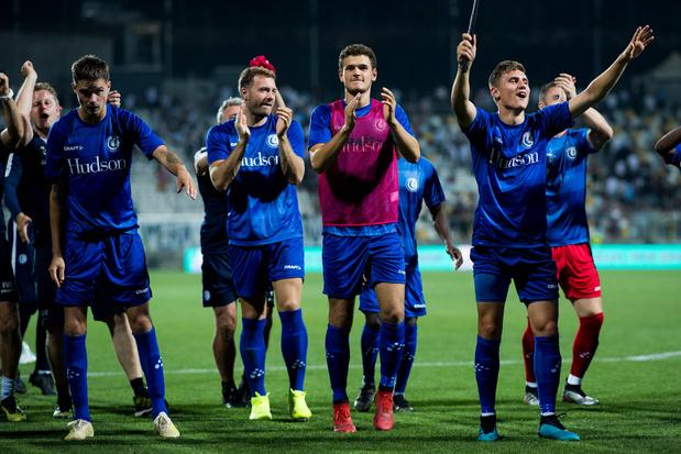 La Gantoise tient bon à Rijeka et retrouve la phase de poules de l'Europa League