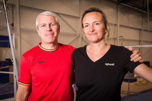 Yves Kieffer en Marjorie Heuls blijven hoofdcoaches bij Gymfed