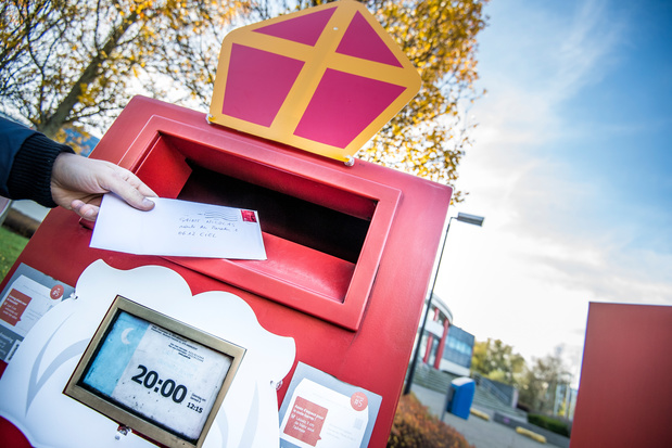 Kinderen kunnen opnieuw brief aan de Sint met de post verzenden