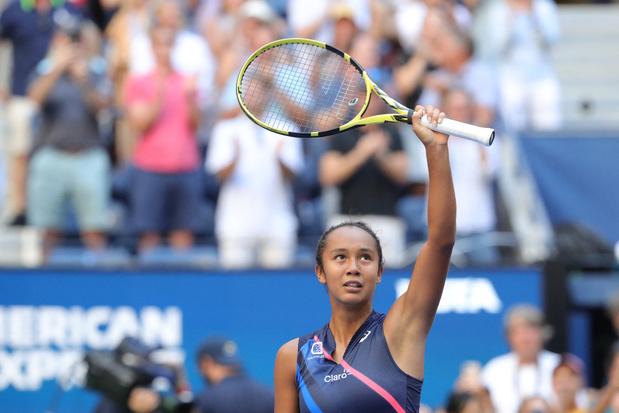 US Open: Le rêve continue pour la jeune Leylah Fernandez, Medvedev contre Auger-Aliassime en demies